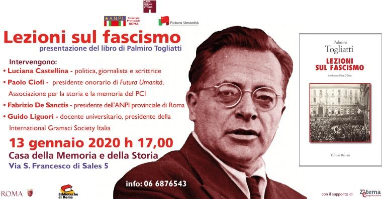 lezioni sul fascismo